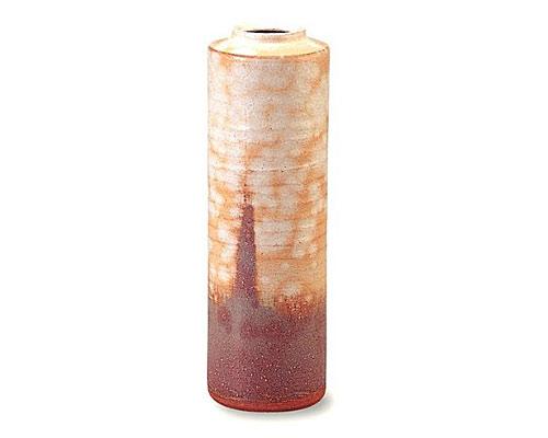 萩焼 花瓶 彩土花生 化粧箱付