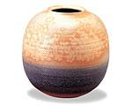 萩焼 花瓶 瑞光壷木箱付
