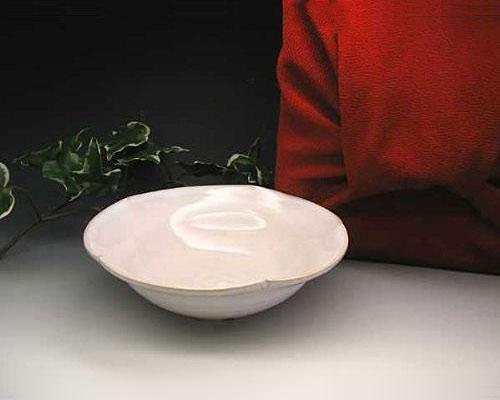 萩焼 鉢 白糸盛鉢 風呂敷包み付