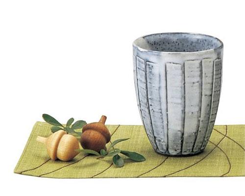 萩焼 フリーカップ 孝彩窯 粉引