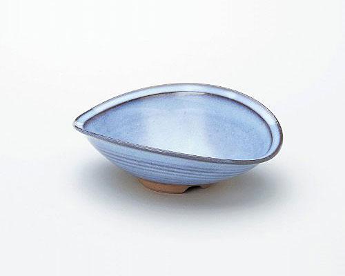 萩焼 鉢 椿秀窯 藍萩掛分 盛鉢