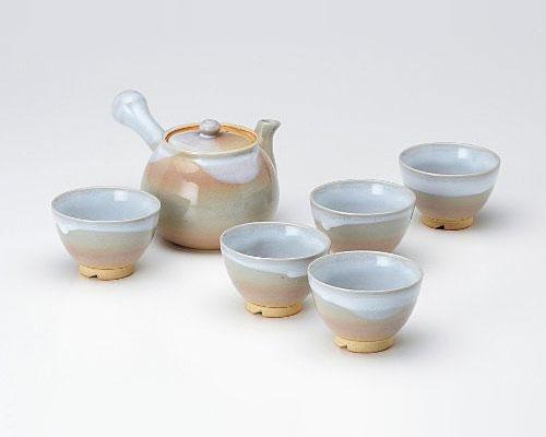 萩焼 茶器揃 天龍窯 茶こし付
