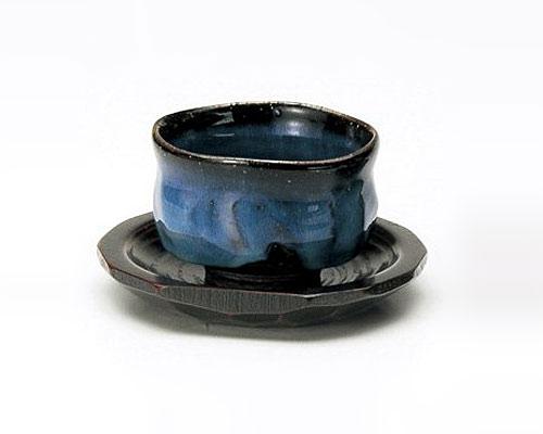 萩焼 碗皿 光彩庵 藍流 いっぷく碗