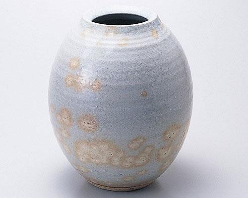萩焼 花瓶 天龍窯 御本手花瓶 木箱入