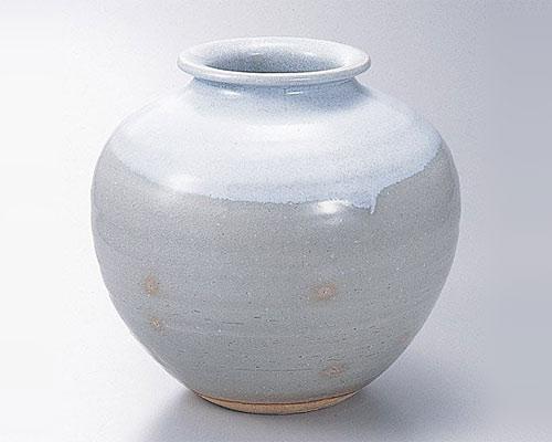 萩焼 花瓶 天龍窯 御本手壷 木箱入