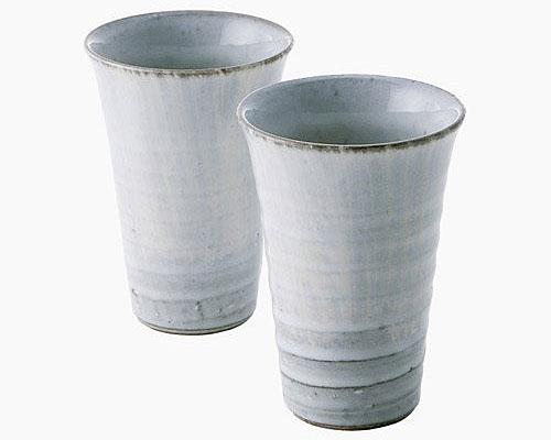 萩焼 フリーカップ 絹雲 ペア