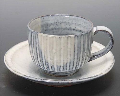 萩焼 碗皿 青釉碗皿