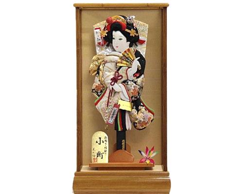 羽子板 ケース飾り 小町 15号 金駒正絹刺繍