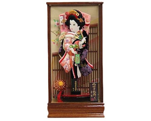 羽子板 ケース飾り 花 15号 ベルベット吉野桜