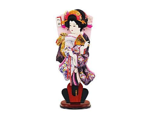 羽子板 台飾り 刺繍鴛鴦 18号