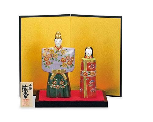 九谷焼 ひな人形 5.5号雛人形 盛