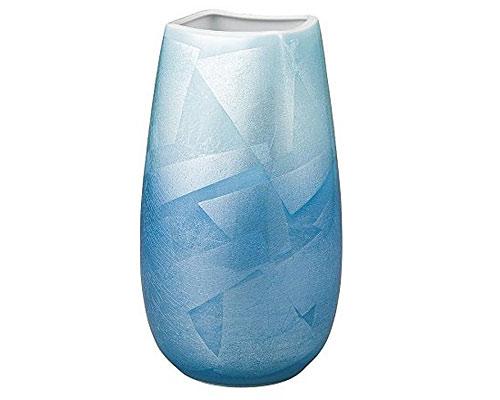 九谷焼 9号花瓶 銀彩