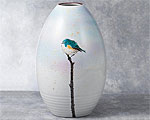 九谷焼 8号花瓶 かがやき 中村陶志人