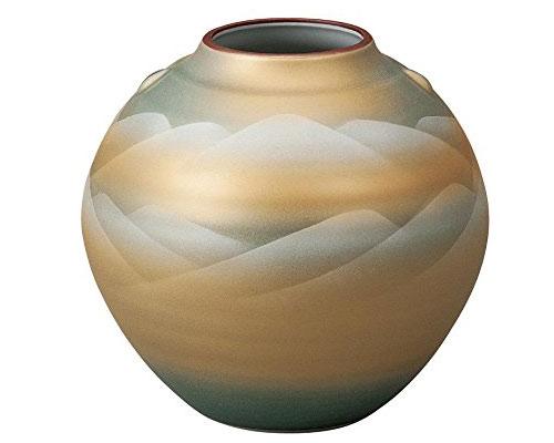 九谷焼 5.5号花瓶 連山