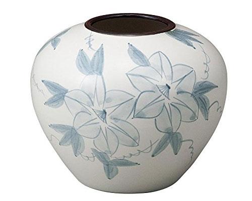 九谷焼 5.5号花瓶 鉄仙