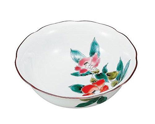 九谷焼 6.3号鉢 椿