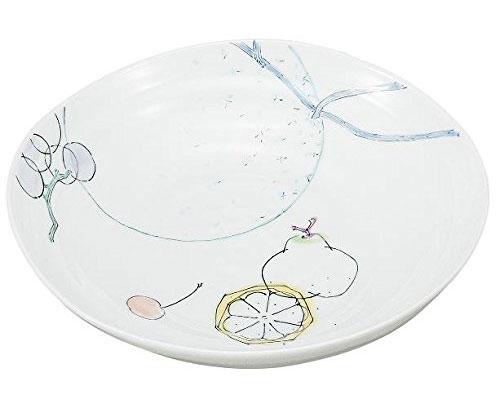 九谷焼 7.3号鉢 フルーツ 武腰美恵子