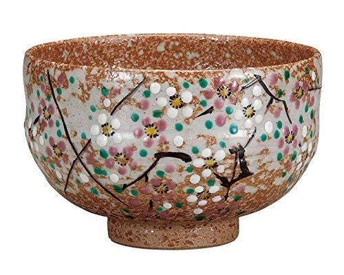 九谷焼 抹茶碗 小梅