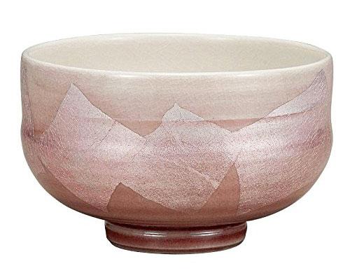 九谷焼 抹茶碗 銀彩