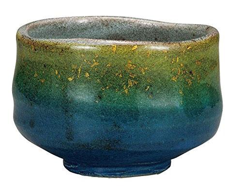 九谷焼 抹茶碗 釉裏金彩