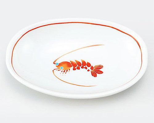 九谷焼 皿 小皿 海老