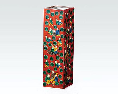 九谷焼 8号花瓶 フラワーベース 木米