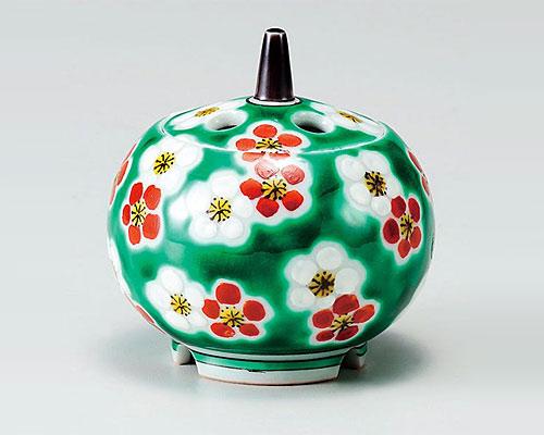 九谷焼 香炉 2.7号 梅詰