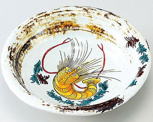 九谷焼 鉢 7号鉢 海老文