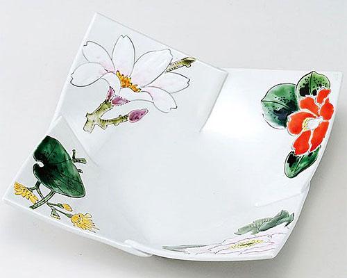 九谷焼 鉢 7号鉢 四季の花譜 福田良則