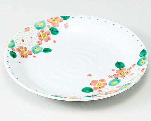 九谷焼 皿 9号盛皿 花盛