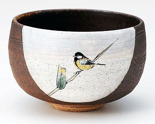 九谷焼 抹茶碗 のどか 陶志窯