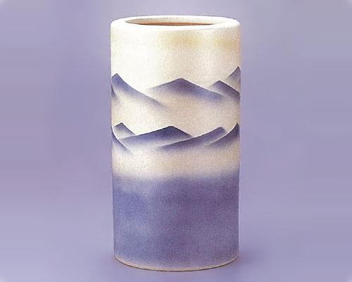 九谷焼 傘立 連山