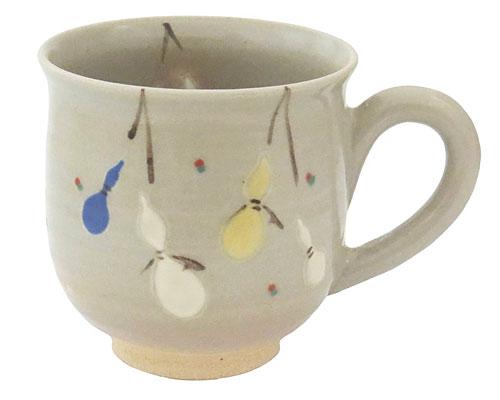 京焼・清水焼 関窯 マグカップ 六瓢