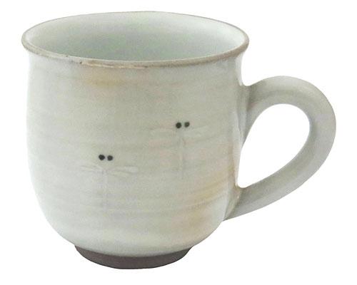 京焼・清水焼 関窯 マグカップ トンボ