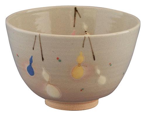 京焼・清水焼 関窯 抹茶碗 六瓢