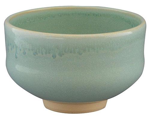 京焼・清水焼 林山窯 抹茶碗 ヒワ流し