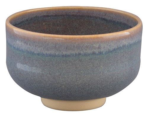 京焼・清水焼 林山窯 抹茶碗 ねずみ流し