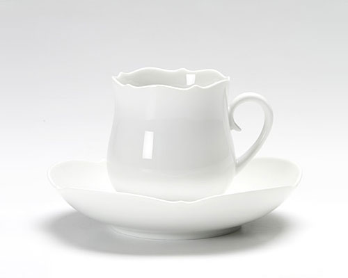 マイセン マイセンホワイト コーヒーカップ&ソーサー 150cc