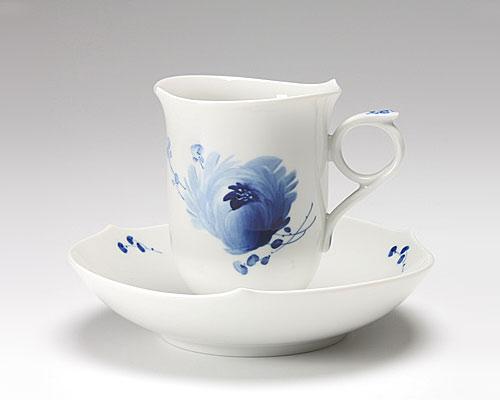 マイセン 青い花 コーヒーカップ&ソーサー 180cc
