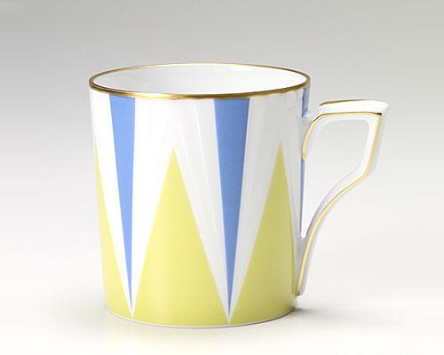 大倉陶園 アールデコ マグカップ
