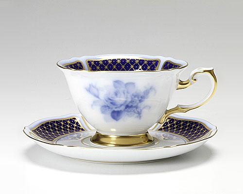 大倉陶園 ブルーインペリアル カップ&ソーサー