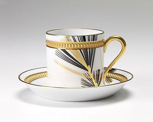 大倉陶園 碗皿ごよみ12ヶ月 松(睦月) カップ&ソーサー