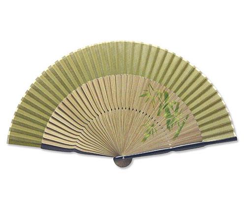 高級扇子 「親黒壇ペンテックス/竹」