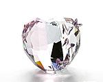 スワロフスキー Love Heart Light Amethyst(M)