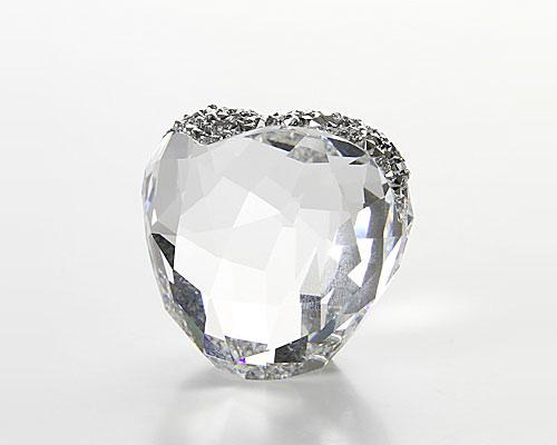 スワロフスキー Love Heart Crystal(M)