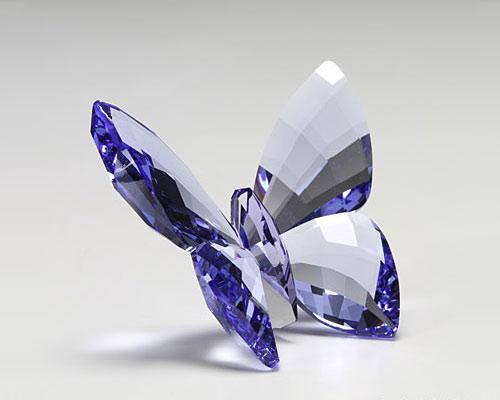 スワロフスキー チョウ Provence Lavender