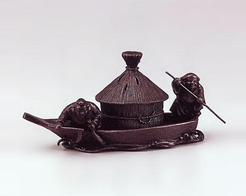 高岡銅器 銅製 香炉 藻かる香炉 大森孝志