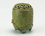 高岡銅器 銅製 香炉 伝芳文 青銅色