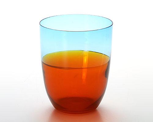 ナソン&モレッティ タンブラー ブルーオレンジ