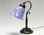 ベネチアガラス ムリーナ ブルー ランプ